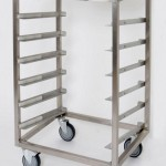 Open transport or storage trolley