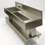 Custom sink BROEN RO taps