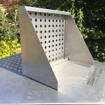 Perforated shelves