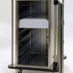 Endoscope trolley showing cargo