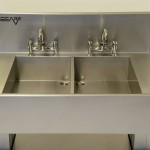 Manual Decontamination Sink For Limited space