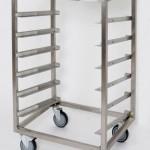Open transport or storage trolley