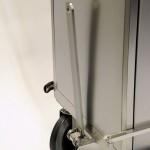 Tug drawn endoscope trolley connection bar detail