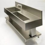 Custom sink BROEN RO taps