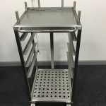 Bespoke Trolley for cleanascope trays