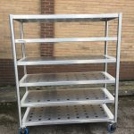 Very heavy duty storage rack