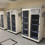 Double door chemical cabinets