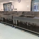 Neocare height adjustable sinks on parade