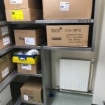 Fabricated racking, made for the space built to perform