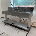 Da Vinci sink with accessories
